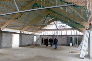 Bau und Einweihung der Aula Grundschule Langballig