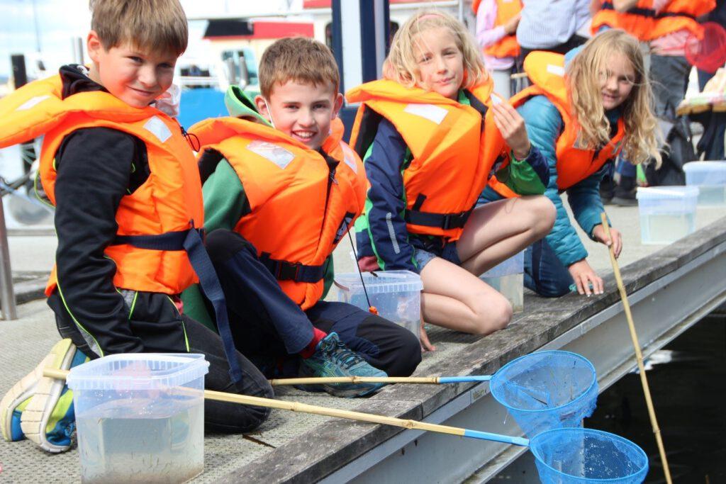 Meeresforscher an der Grundschule Langballig